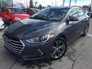 Used 2017 Hyundai Elantra GLS TOIT,APPLE for sale in Blainville, QC