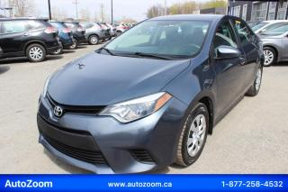 Used 2016 Toyota Corolla CE **WOW**WOW** FINANCEMENT FACILE !!! for sale in Laval, QC
