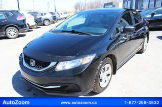 Used 2015 Honda Civic LX **WOW** FINANCEMENT FACILE !!! for sale in Laval, QC