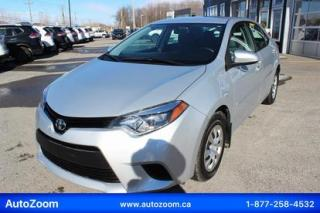 Used 2016 Toyota Corolla CE **WOW** FINANCEMENT FACILE !! for sale in Laval, QC