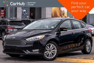 Used 2016 Ford Focus Titanium|Sunroof|HeatedFrontSeats|Nav|SatRadio for sale in Thornhill, ON