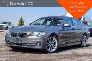 Used 2015 BMW 5 Series 535i xDrive|Navi|Sunroof|Bluetooth|Leather|Heated front Seats|19