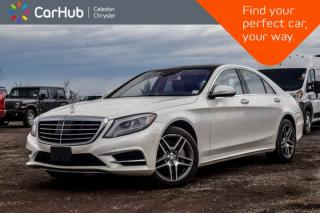 Used 2016 Mercedes-Benz S-Class S 400|4Matic|Navi|Pano Sunroof|Backup Cam|Bluetooth|Leather|19