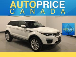 Used 2018 Land Rover Evoque SE NAVIGATION|PANOROOF|LEATHER for sale in Mississauga, ON