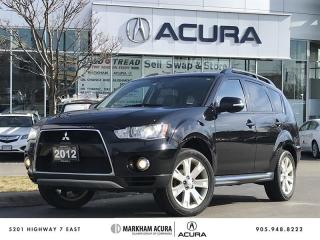 Used 2012 Mitsubishi Outlander XLS 4WD Sportronic at Navi, Rockford Fosgate Audio, HID Lights for sale in Markham, ON