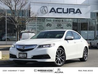 Used 2015 Acura TLX 3.5L SH-AWD V6 290HP, Moonroof, Heated Seats for sale in Markham, ON