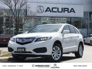 Used 2016 Acura RDX at V6 AWD, Backup Camera, Heated Seats for sale in Markham, ON