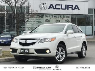 Used 2015 Acura RDX at V6 AWD, Moonroof, Fog Lights for sale in Markham, ON