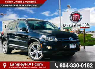 Used 2013 Volkswagen Tiguan 2.0 TSI Highline R-Line, Navigation, Low KM's! for sale in Surrey, BC