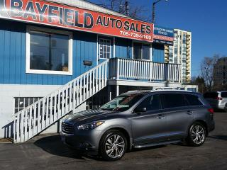 Used 2015 Infiniti QX60 AWD **Navigation/Heated & Cooled Seats/DVD** for sale in Barrie, ON