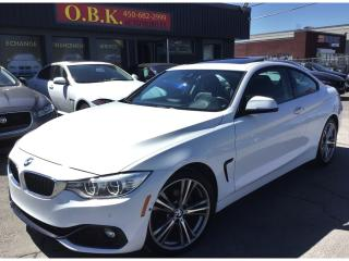 Used 2014 BMW 428i PREMIUM PKG-NAVIGATION-HEAD UP DISPLAY-TOIT-CAM RE for sale in Laval, QC
