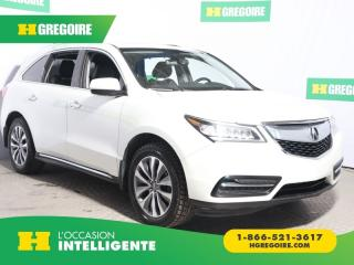Used 2015 Acura MDX TECH SH-AWD CUIR for sale in St-Léonard, QC