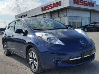 Used 2017 Nissan Leaf ZERO EMISSION ELECTRIC w/NAV,rear cam,heated seats,sxm radio for sale in Cambridge, ON