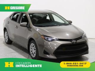 Used 2017 Toyota Corolla LE A/C CAM RECUL for sale in St-Léonard, QC