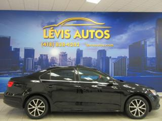 Used 2015 Volkswagen Jetta COMFORTLINE 1.8 TSI TOIT OUVRANT ! for sale in Lévis, QC