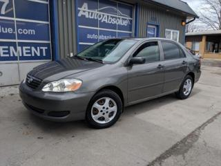 Used 2005 Toyota Corolla CE for sale in Boisbriand, QC