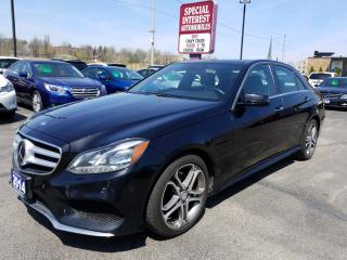 Used 2014 Mercedes-Benz E-Class DRIVERS ASSISTANCE !!  AMG PACKAGE !! NAVIGATION for sale in Cambridge, ON