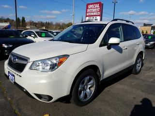 Used 2015 Subaru Forester 2.5i ONE OWNER !!  ONTARIO VEHICLE !! for sale in Cambridge, ON