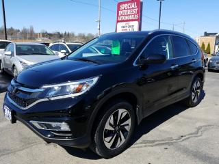 Used 2015 Honda CR-V Touring CLEAN CAR PROOF !!  ONTARIO VEHICEL !!  NAVIGATION !! for sale in Cambridge, ON
