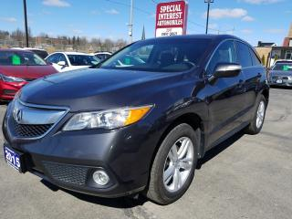 Used 2015 Acura RDX CLEAN CAR PROOF !!  NAVIGATION !!  SUNROOF !! for sale in Cambridge, ON