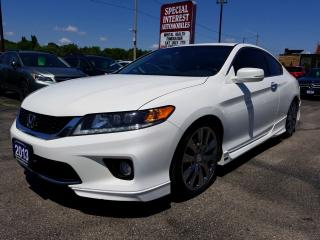 Used 2013 Honda Accord EX-L-NAVI V6 ACCIDENT FREE !!  HONDA PERFORMANCE PACKAGE for sale in Cambridge, ON