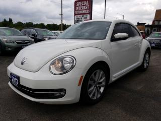 Used 2013 Volkswagen Beetle 2.0 TDI Highline NAVIGATION !!  DIESEL !!  FENDER SPEAKERS !! for sale in Cambridge, ON