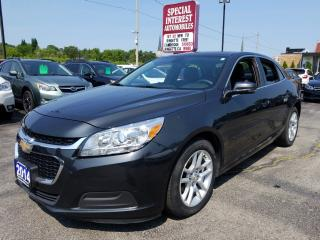 Used 2014 Chevrolet Malibu 1LT BLUE TOOTH !!  REAR CAMERA !!  POWER SEAT !! for sale in Cambridge, ON