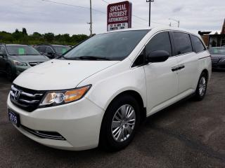 Used 2016 Honda Odyssey LX BLUE TOOTH !!  REAR CAMERA !!  7 PASSENGER !! for sale in Cambridge, ON