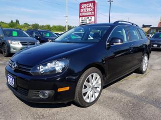 Used 2014 Volkswagen Golf 2.0 TDI Highline TDI DIESEL !!  NAVIGATION !!  SUNROOF !! for sale in Cambridge, ON