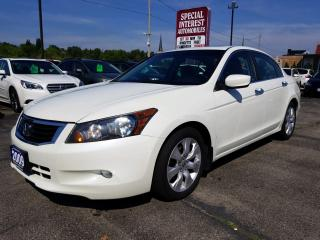 Used 2009 Honda Accord EX-L V6 TIMING BELT CHANGED !! LEATHER !!  SUNROOF !! for sale in Cambridge, ON