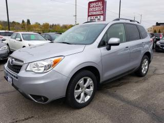 Used 2015 Subaru Forester 2.5i Convenience Package BLUE TOOTH !!  REAR CAMERA !!  HEATED SEATS !! for sale in Cambridge, ON