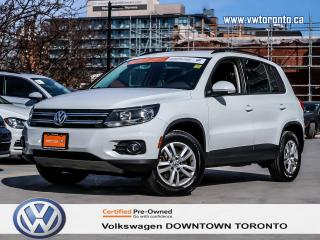 Used 2015 Volkswagen Tiguan TRENDLINE 4MOTION CONVENIENCE PACKAGE for sale in Toronto, ON