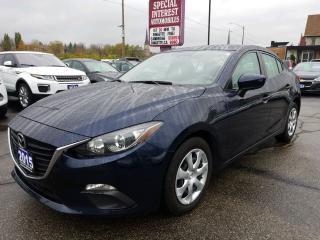 Used 2015 Mazda MAZDA3 GX SKYACTIV | BLUE TOOTH | AUTO | PUSH START for sale in Cambridge, ON