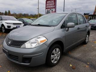 Used 2010 Nissan Versa 1.6S CLEAN CAR PROOF !!  ONE OWNER !!  LOW KMS !! for sale in Cambridge, ON