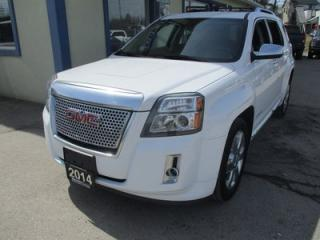 Used 2014 GMC Terrain ALL-WHEEL DRIVE DENALI EDITION 5 PASSENGER 3.6L - V6.. LEATHER.. HEATED SEATS.. NAVIGATION.. SUNROOF.. BACK-UP CAMERA.. BLUETOOTH SYSTEM.. for sale in Bradford, ON