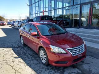 Used 2013 Nissan Sentra S CVT MAIN LIBRE CELLULAIRE for sale in Lévis, QC