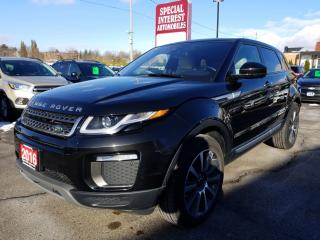 Used 2016 Land Rover Evoque HSE NAVIGATION !!  HEATED LEATHER SEATS !!  BLUE TOOTH !! for sale in Cambridge, ON