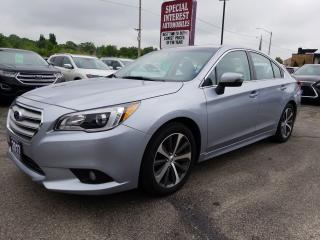 Used 2017 Subaru Legacy 2.5i Limited NAVIGATION !!  SUNROOF !!  HEATED LEATHER !! for sale in Cambridge, ON