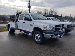 Used 2007 Dodge Ram 3500 ST WRECKER TOW TRUCK for sale in Cambridge, ON
