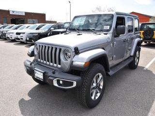 New 2019 Jeep Wrangler Unlimited Sahara for sale in Concord, ON