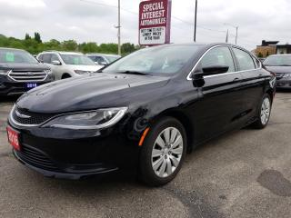 Used 2016 Chrysler 200 LX CRUISE !!  ACCIDENT FREE !! for sale in Cambridge, ON
