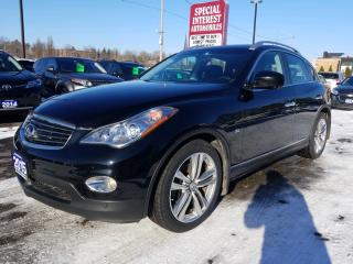 Used 2015 Infiniti QX50 NAVIGATION !!  NEW GOODYEAR TIRES !! for sale in Cambridge, ON
