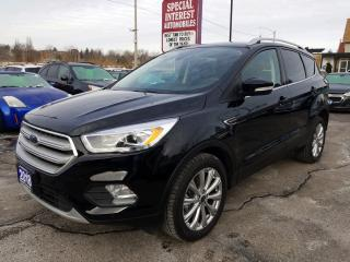Used 2018 Ford Escape Titanium NAVIGATION !!  SUNROOF !!  LEATHER !!  AWD !! for sale in Cambridge, ON