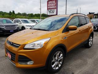 Used 2016 Ford Escape SE NAVIGATION !!  SUNROOF !!  HEATED LEATHER !! for sale in Cambridge, ON