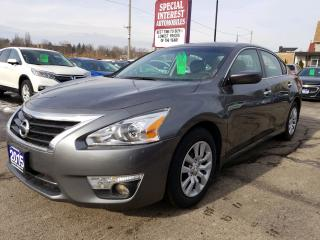 Used 2015 Nissan Altima 2.5 BLUE TOOTH !!  CRUISE CONTROL !!  POWER OPTIONS !! for sale in Cambridge, ON