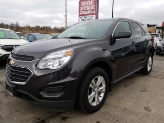 Used 2016 Chevrolet Equinox LS AWD !! REAR CAMERA !!  BLUE TOOTH !! for sale in Cambridge, ON