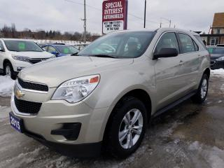 Used 2015 Chevrolet Equinox LS BLUE TOOTH !! CRUISE !!  KEYLESS ENTRY for sale in Cambridge, ON