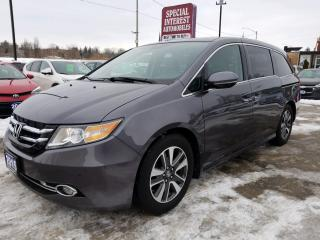 Used 2015 Honda Odyssey Touring LEATHER !! SUNROOF !!  NAVIGATION !! for sale in Cambridge, ON