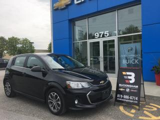 Used 2017 Chevrolet Sonic LT for sale in Gatineau, QC