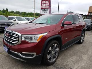 Used 2017 GMC Acadia SLT-2 HEATED LEATHER !!  BLUE TOOTH !!  AWD !! for sale in Cambridge, ON